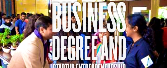 Does a degree in business management help entrepreneurs who want to start their own business?